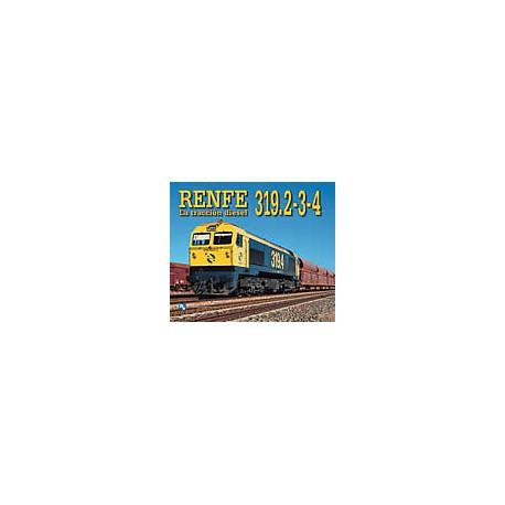 RENFE 319. La tracción diesel