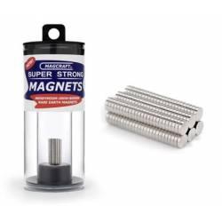 Imanes circulares. 3,2 x 0,8 mm (x150). MAGCRAFT NSN0592