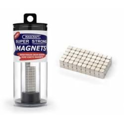 Imanes cúbicos. 3,2 mm (x100). MAGCRAFT NSN0570