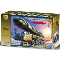 """Misil ruso """"Topol"""" SS-25. ZVEZDA 5003"""