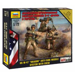 """Misil anti-tanque M-47 """"Dragon"""". ZVEZDA 7415"""