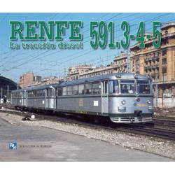 RENFE 591.3-4-5. La tracción diesel