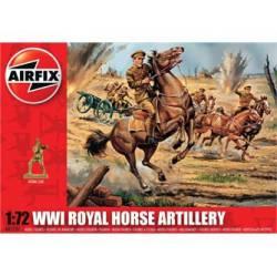 WWI Royal Horse Artillery. AIRFIX A01731