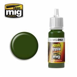 Crystal verde. AMIG 092