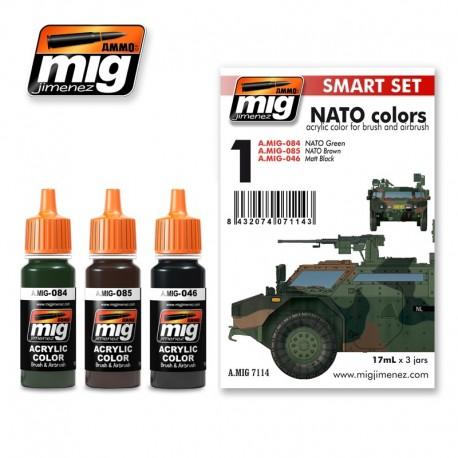 Set de colores de la OTAN. AMIG 7114