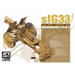 15 cm heavy infantry gun. AFV CLUB 35148