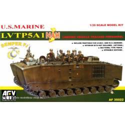 Amphibious vehicle LVT5 A1. AFV CLUB 35022