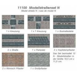 Model streets. HEKI 11100