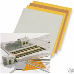 Plastic sheets. BUSCH 7203