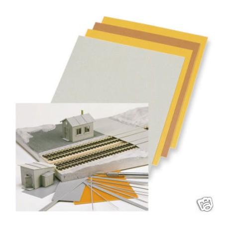 Placas para construir edificios. BUSCH 7203