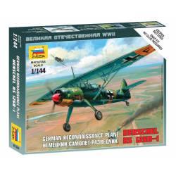 Avión de reconocimiento alemán.