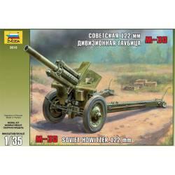 M-30 Soviet howitzer 122 mm.