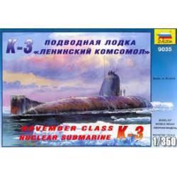 Nuclear submarine K-3. ZVEZDA 9035