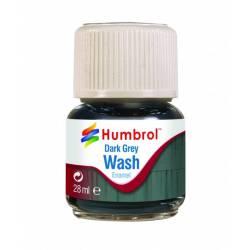 Enamel Wash Dark Grey - 28ml.