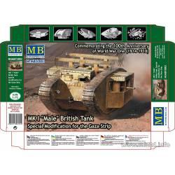 """Mk I """"Male"""", Franja de Gaza."""