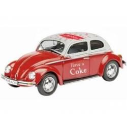 VW Escarabajo Coca-Cola, 1966. MOTORCITY CLASSICS 440030