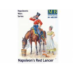 Napoleon's Red Lancer. MASTER BOX 3209