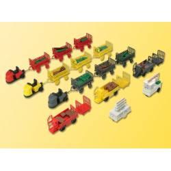 Trolley assortment. KIBRI 37530