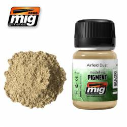 Pigment - Airfield Dust. 35 ml. AMIG 3011