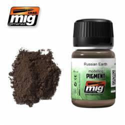 Pigmento tierra rusa. 35 ml. AMIG 3014
