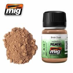 Pigmento polvo de ladrillo. 35 ml. AMIG 3015