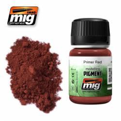 Pigmento rojo imprimación. 35 ml.