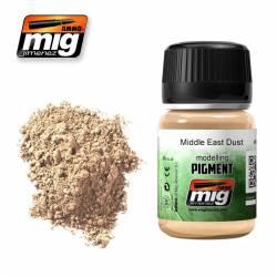 Pigmento polvo Oriente Medio. 35 ml. AMIG 3018