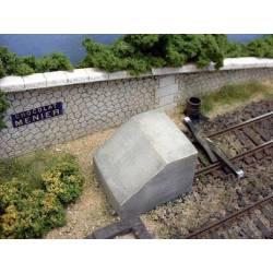Topera de hormigón, SNCF (x2). PN SUD MODELISME 8724