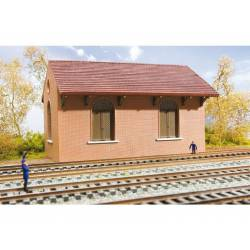 Goods shed. Mounted. HORNBY HC8025