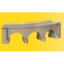 Puente curvo. KIBRI 37661
