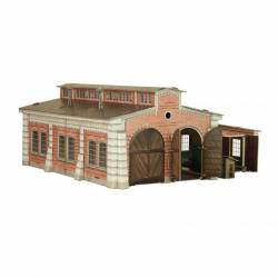 Loco-shed. CLEVER PAPER 305