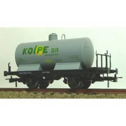Cisterna unificada KOIPE gris con balconcillo.