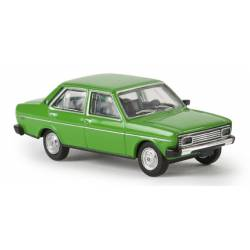 Fiat 131 Mirafiori. Verde.