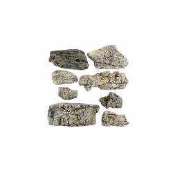 Faceted, Ready Rocks. WOODLAND C1137