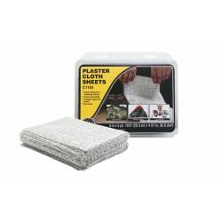 Plaster Cloth Sheets. WOODLAND C1193