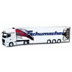 """MB Actros frigorífico """"Schumacher""""."""