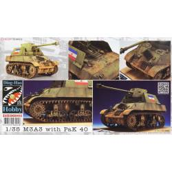 M3A3 with Flak 40. DING-HAO 96001