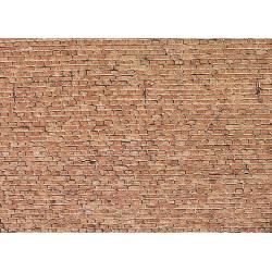 Wall card, clinker brick.