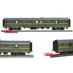 Luggage wagon DDT-5021, RENFE. MABAR 85005