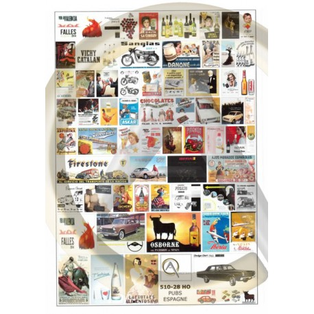 Posters: Spanish advertising. AUBERTRAIN 510-28