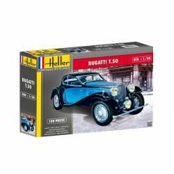 Bugatti T.50. HELLER 80706