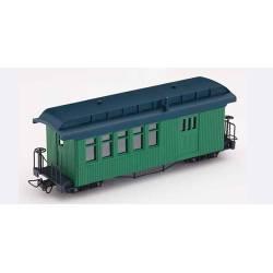 Vagón de uso combinado, verde. MINITRAINS 5173