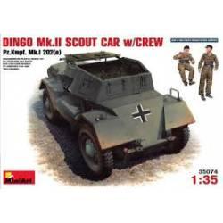 Dingo Mk. II scout car.
