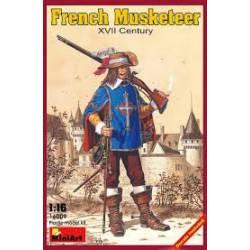 Mosquetero francés.
