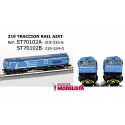Locomotora 319-324-0, AZVI. STARTRAIN 70102B