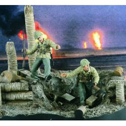 US Marines. Under fire! VERLINDEN 2131