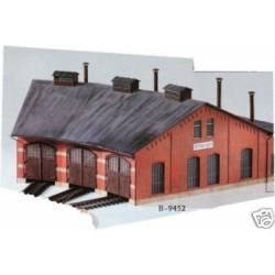Depósito para tres locomotoras. KIBRI 39452