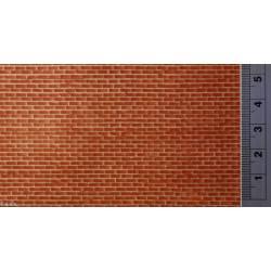 Pared de ladrillo color rojo. REDUTEX 48LV112