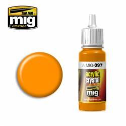 Crystal orange. AMIG 097
