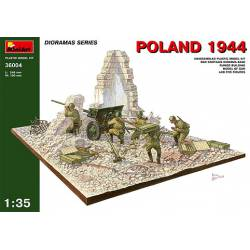Diorama, Poland 1944. MINIART 36004